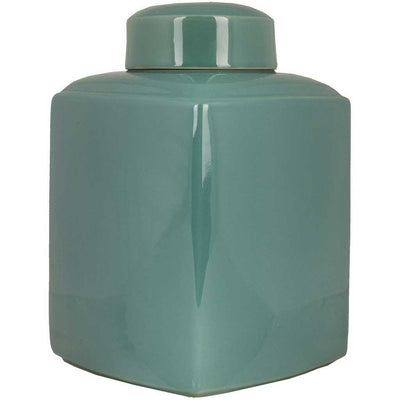Aegean Ceramic Jar Teal