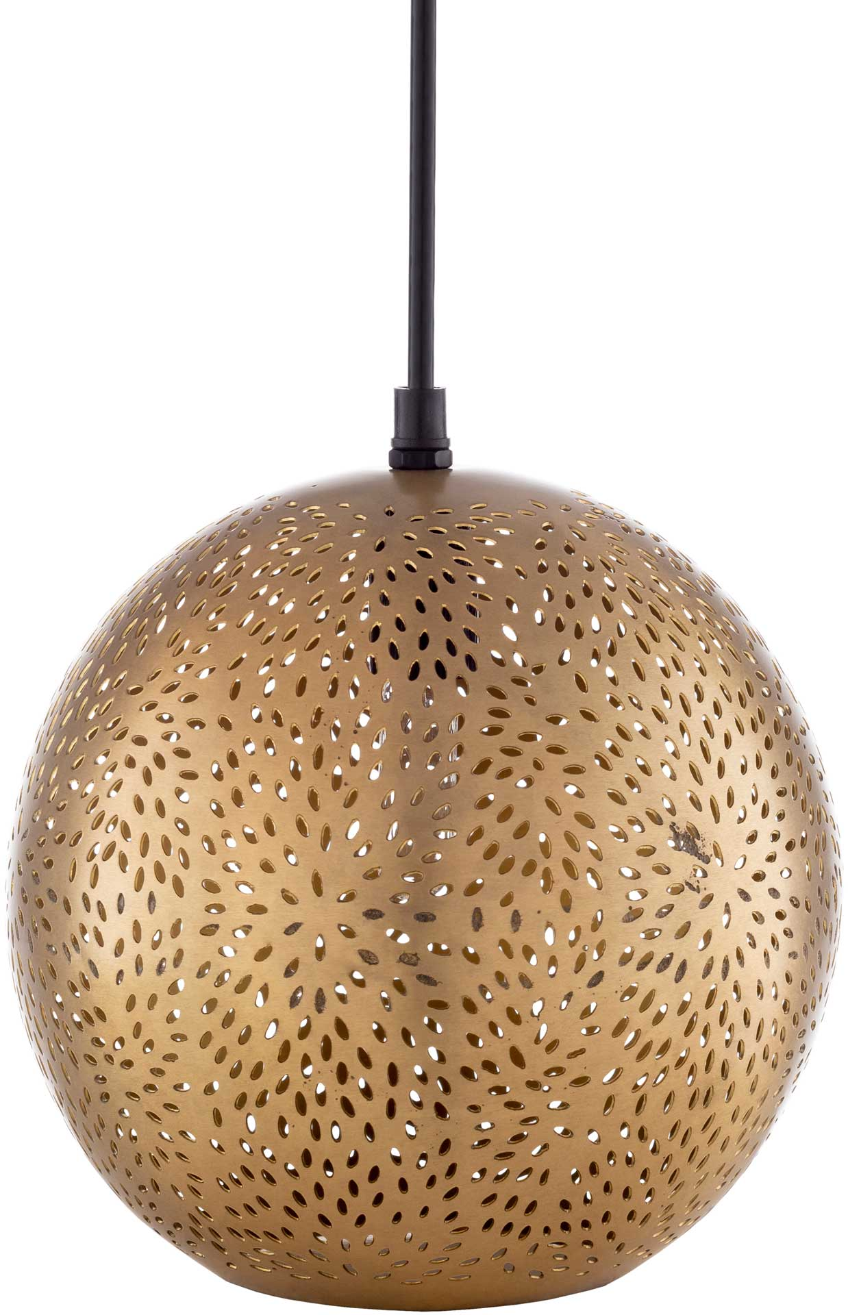 Adele Round Ceiling Lamp Brass
