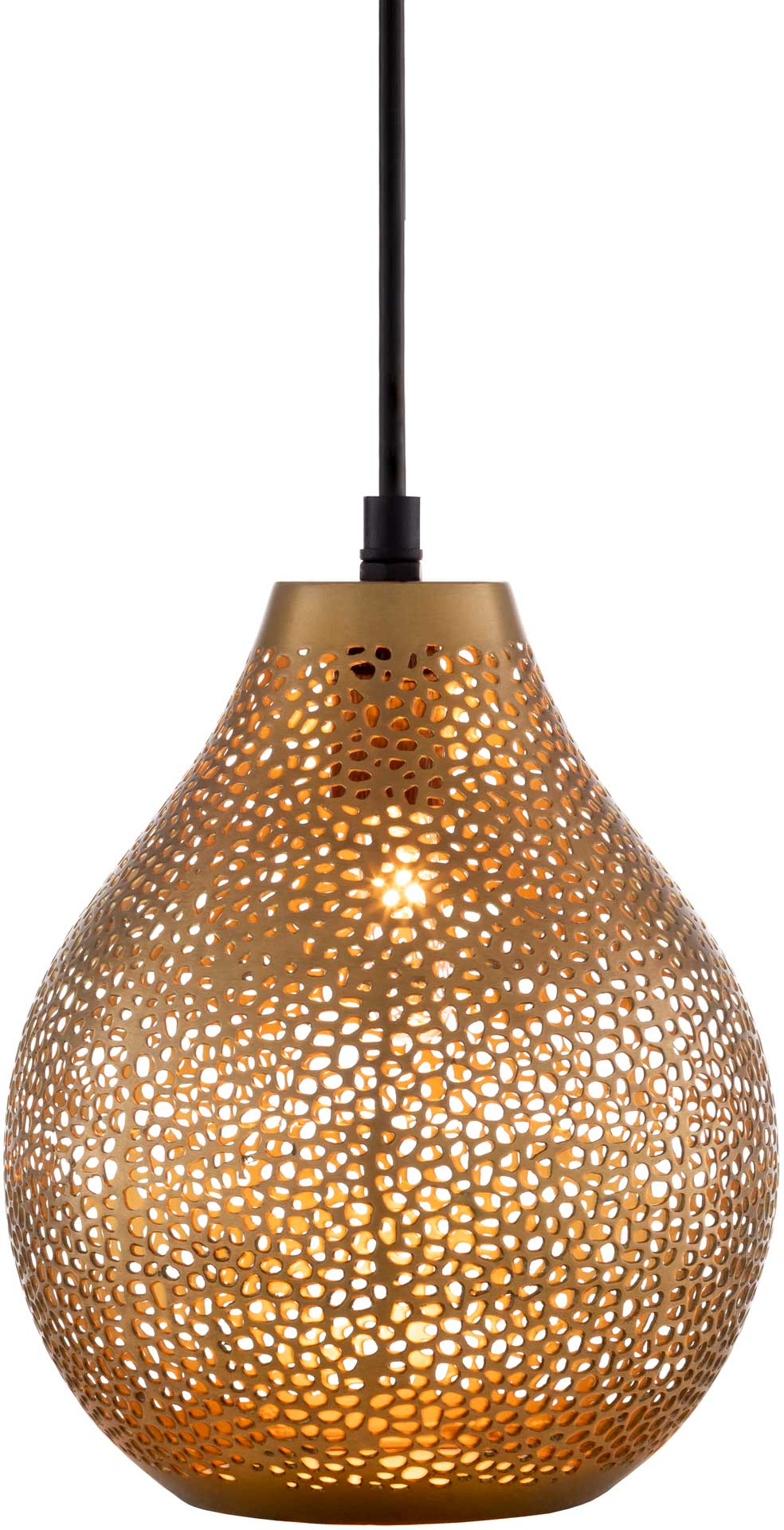 Adele Bell Ceiling Lamp Brass