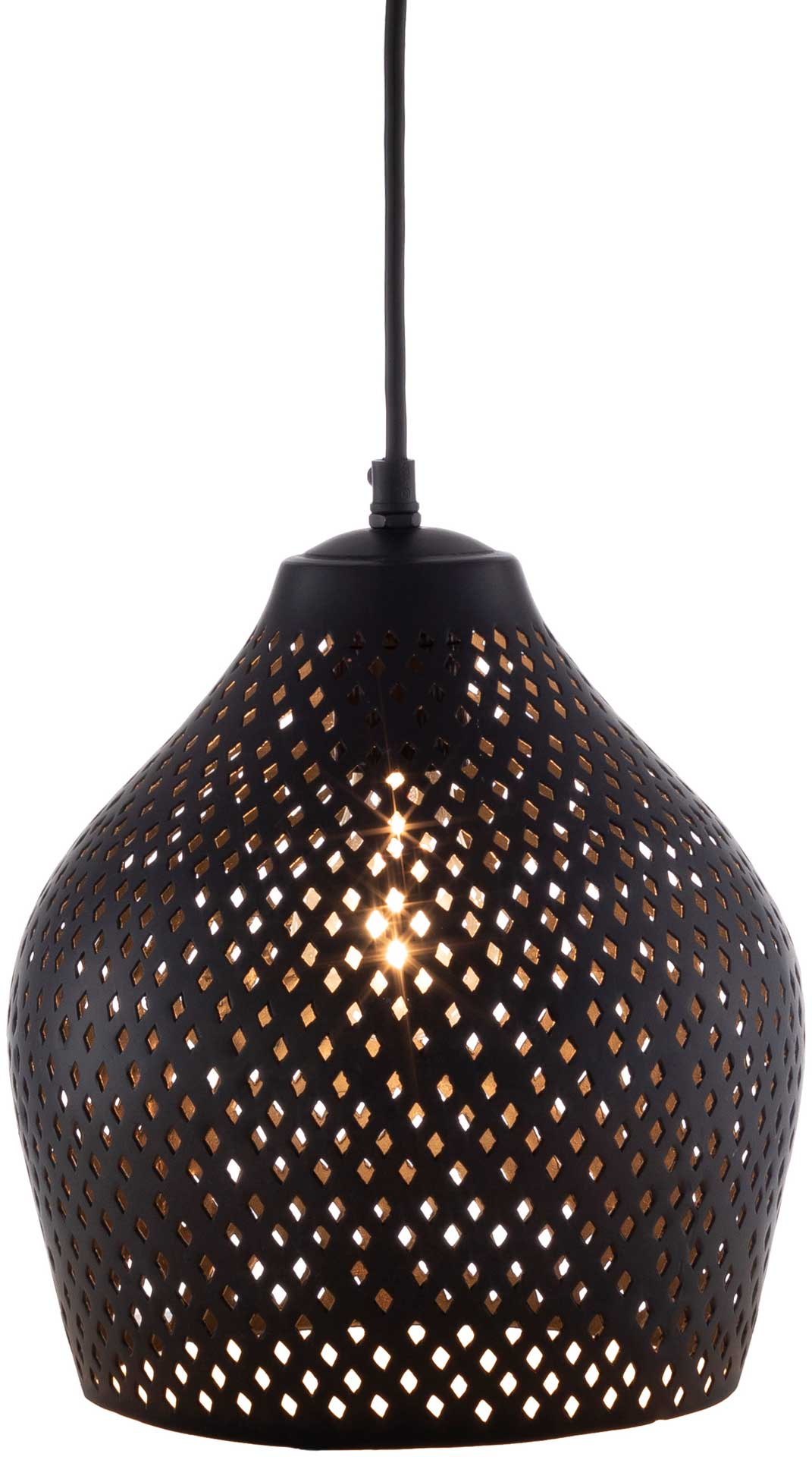 Adele Bell Ceiling Lamp Black