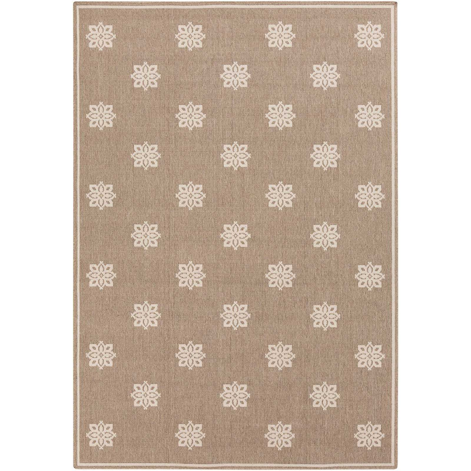Alfresco Finish Taupe/Beige Area Rug