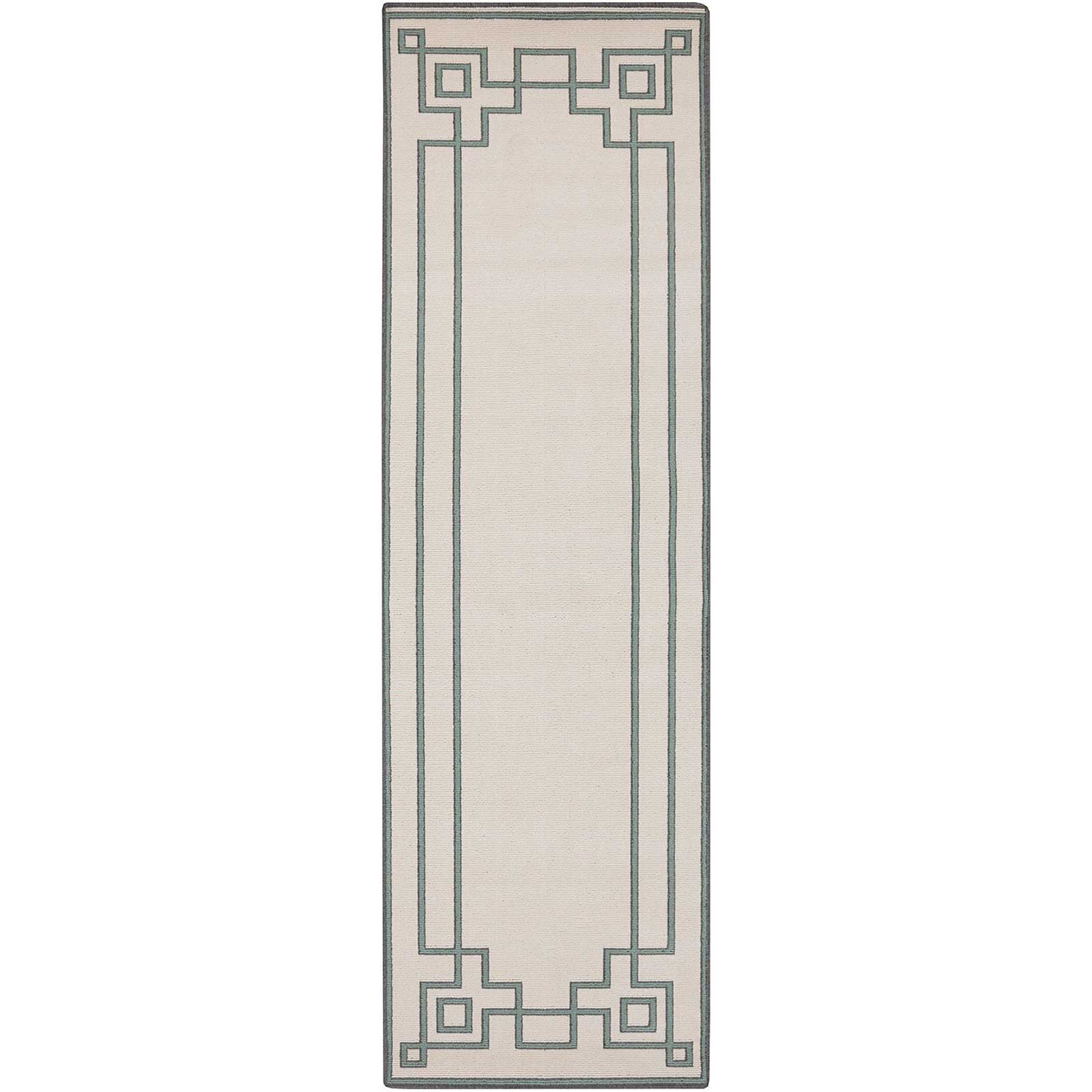 Alfresco Beige/Moss Runner Rug