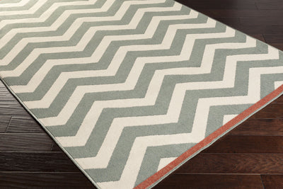 Alfresco Moss/Ivory Area Rug