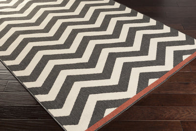 Alfresco Black/Beige Area Rug