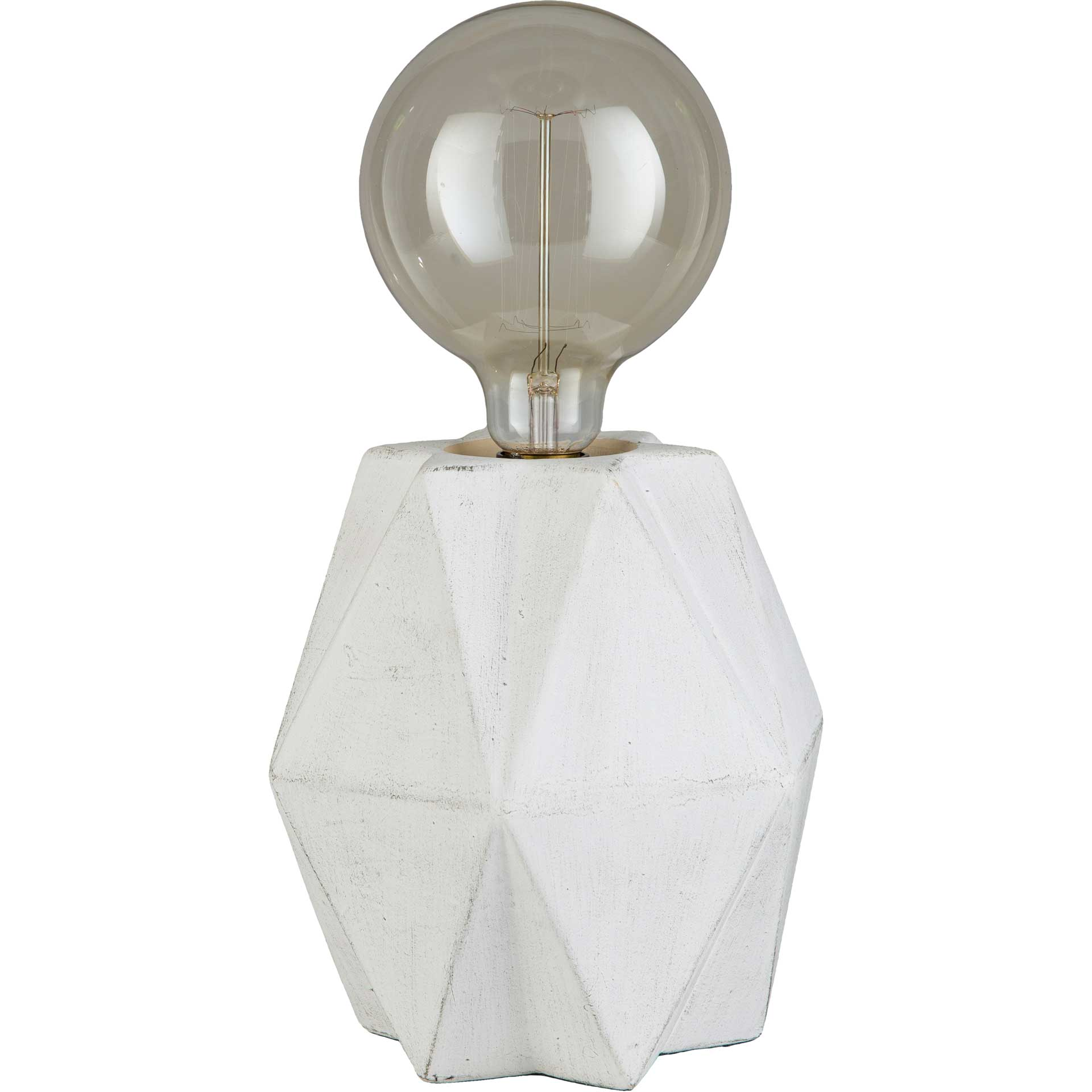 Anaya Table Lamp White