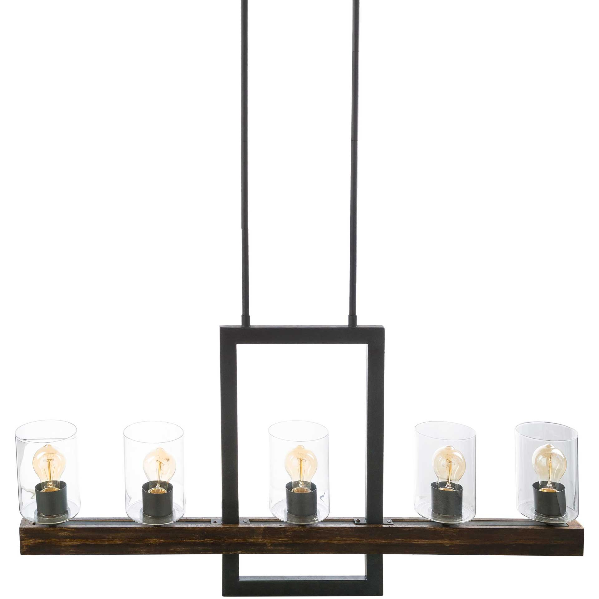 Taliyah Ceiling Lamp Black/Bronze/Clear