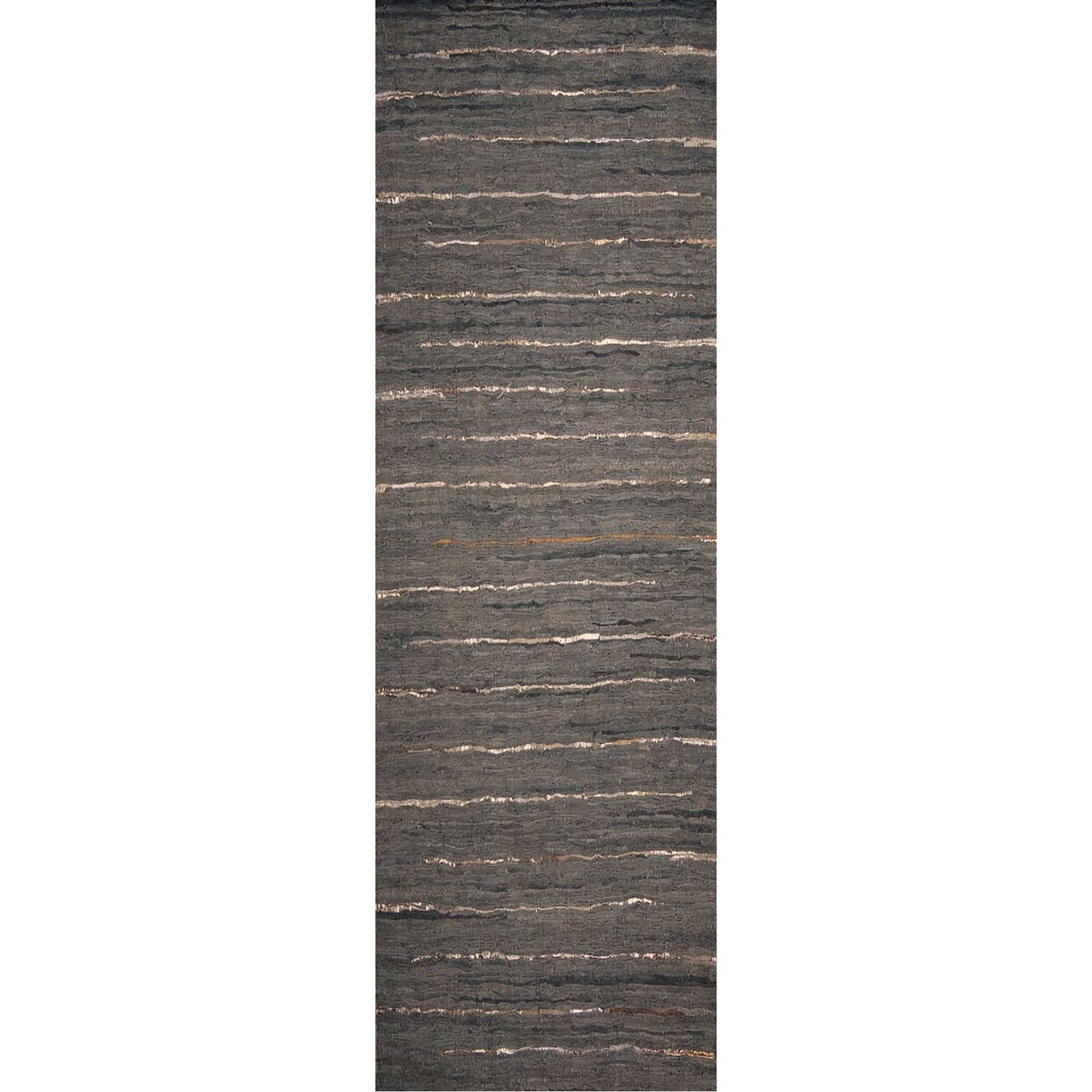 Anthracite Forest/Moss Runner Rug