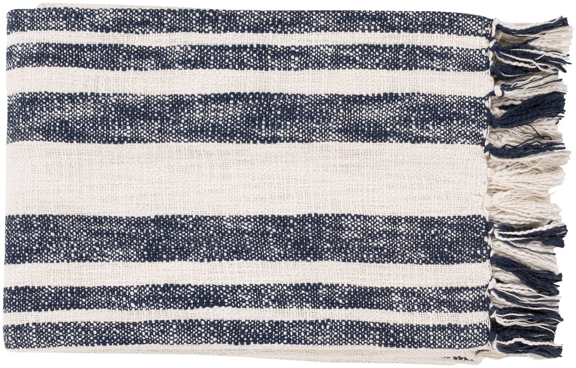 Avalyn Throw Navy/Ivory