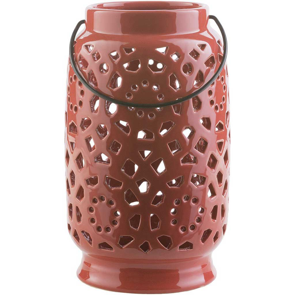 Avery Ceramic Lantern Poppy