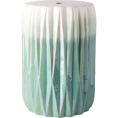 Ayden Stool Aqua/White