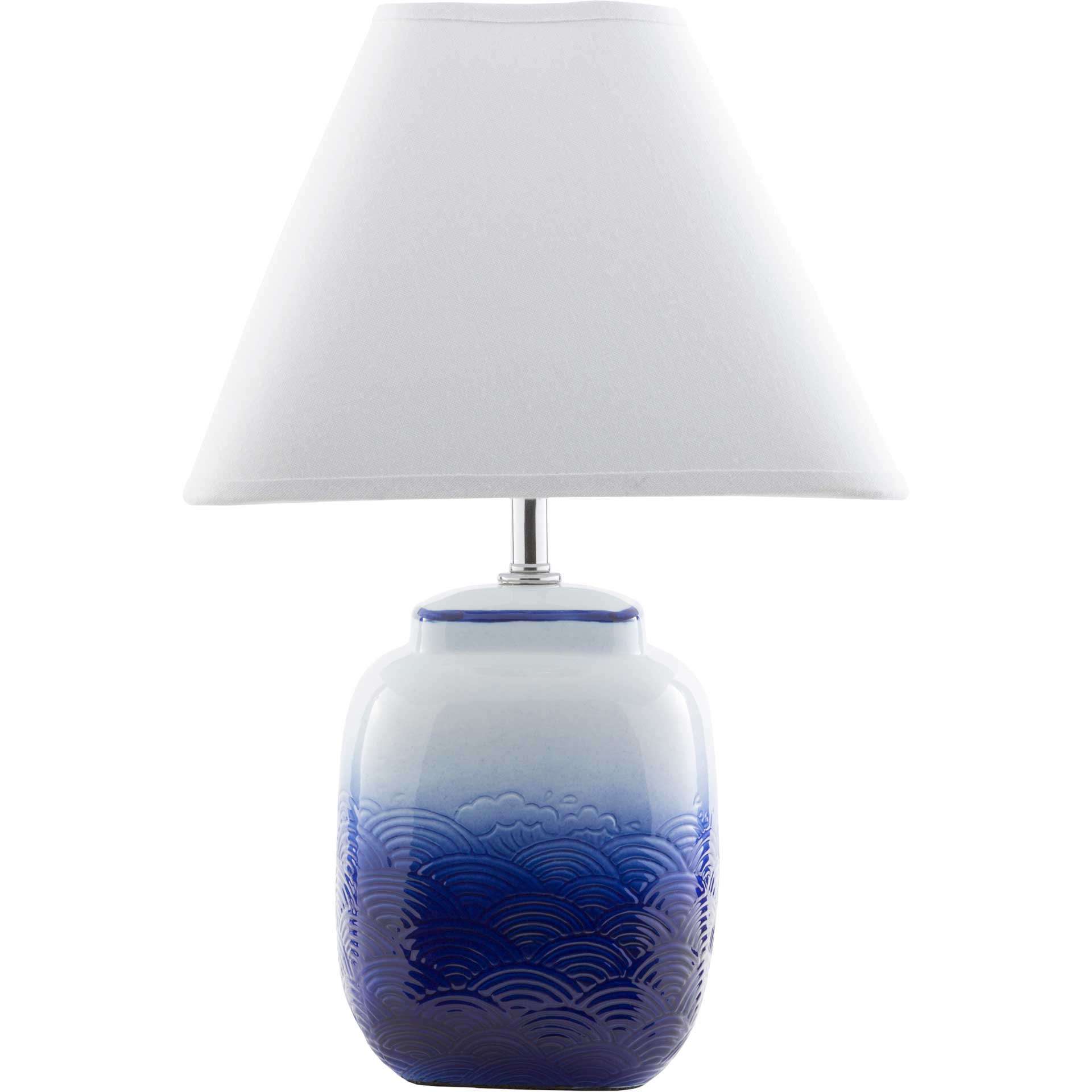 Azalea Table Lamp Navy/White