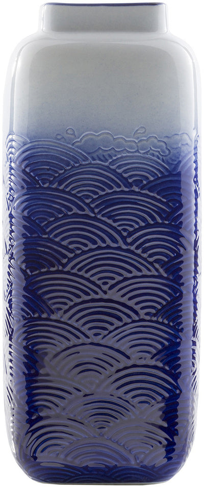 Azul Ceramic Table Vase Navy