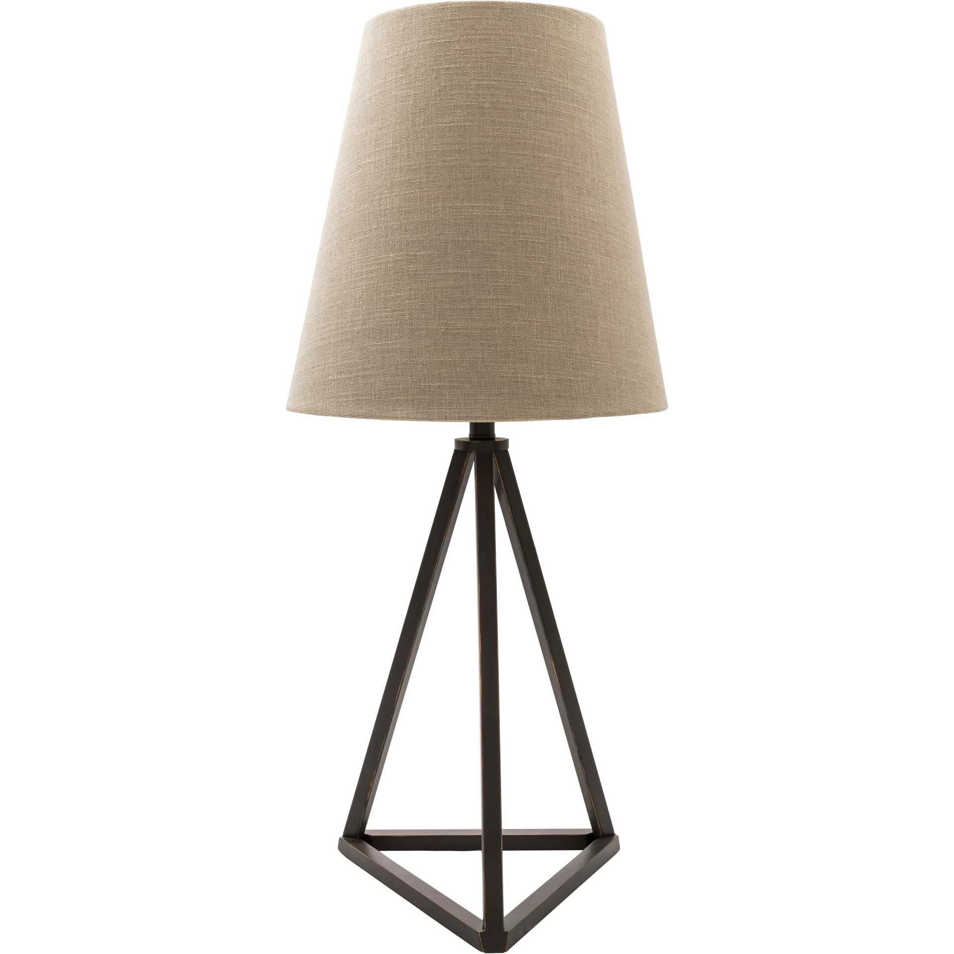 Bella Table Lamp Khaki/Natural