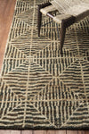 Bjorn Dark Brown/Black/Khaki Area Rug