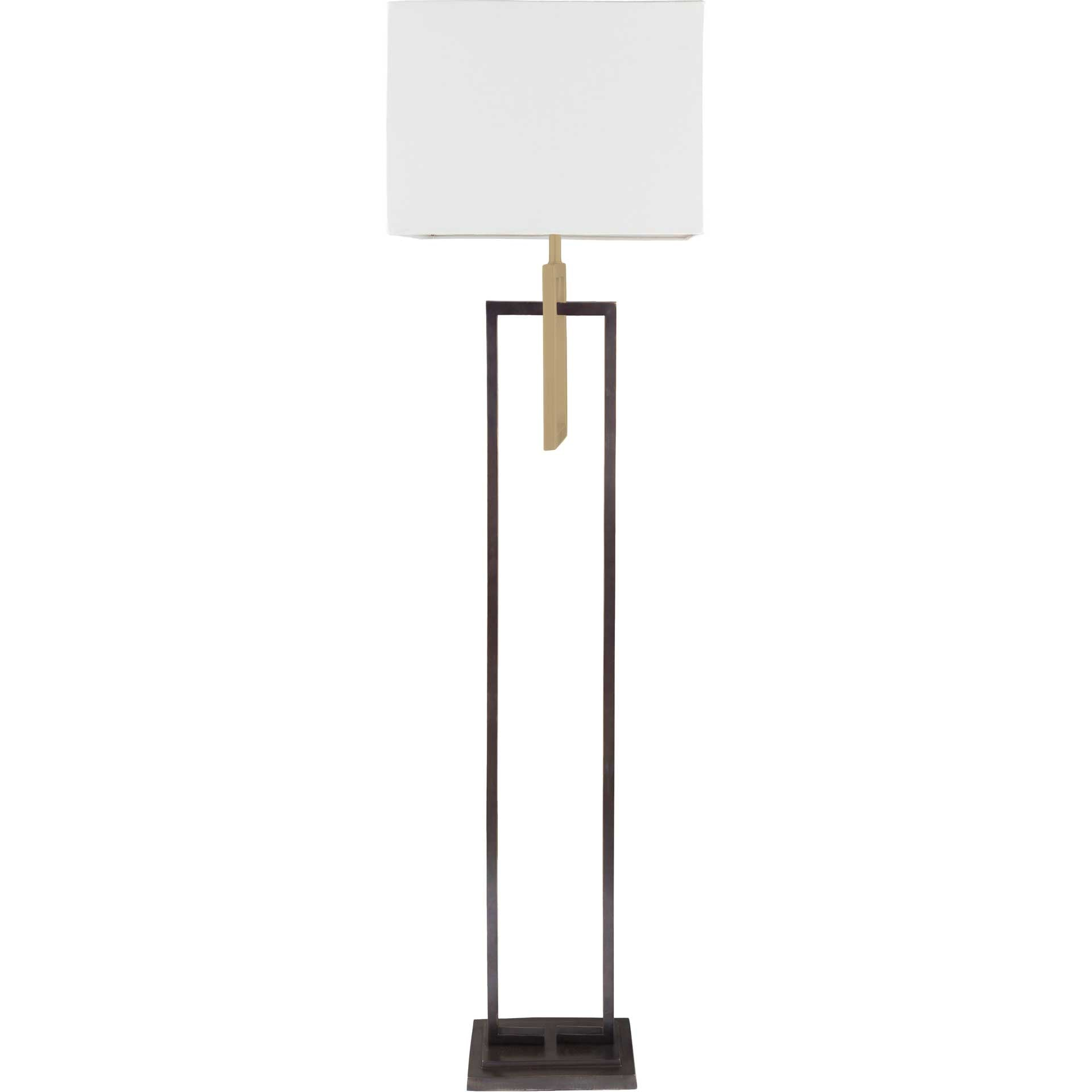 Blessing Floor Lamp White/Bronze