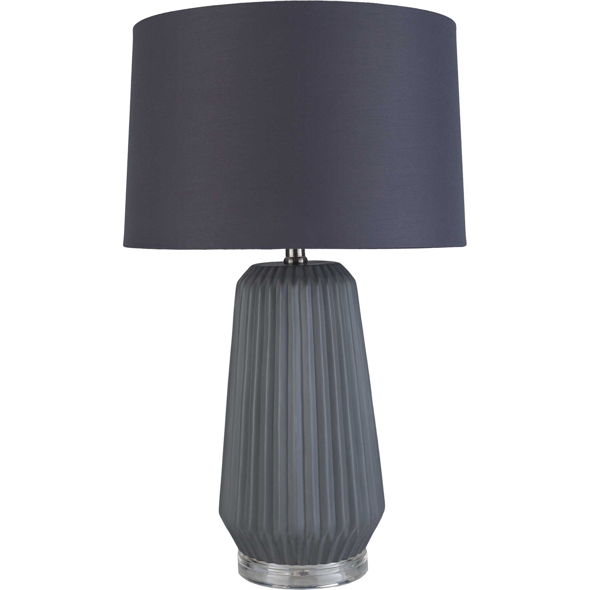 Brendan Table Lamp Charcoal/Navy/Gray