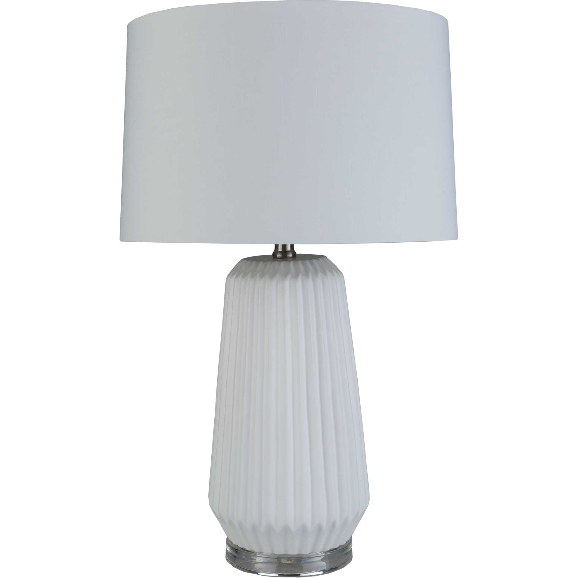 Brendan Table Lamp White