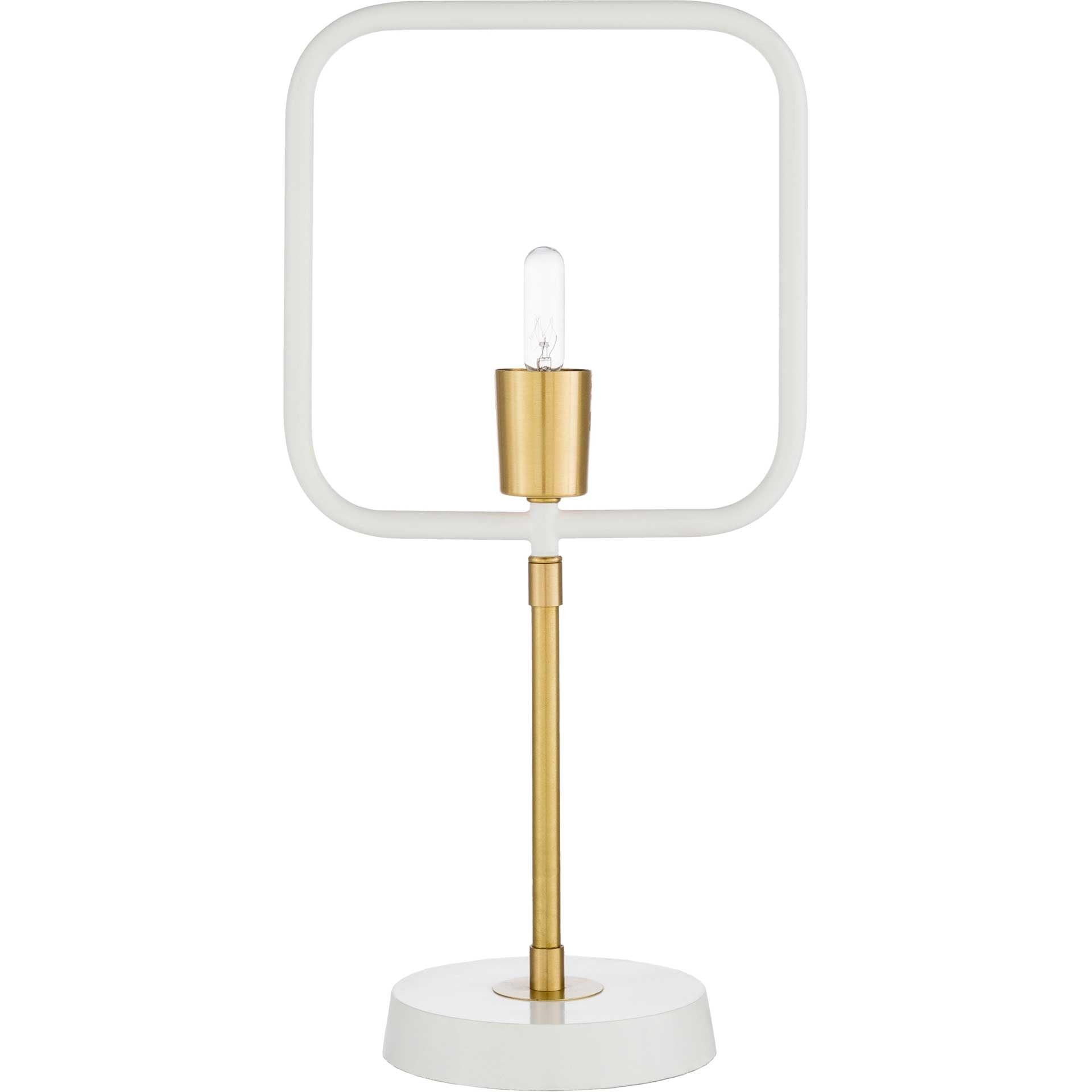 Bodhi Table Lamp White/Brass