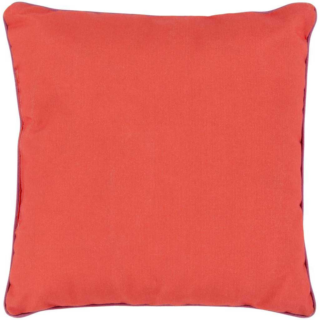 Bahari Poppy/Magenta Pillow
