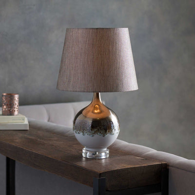 Brantley Table Lamp Camel/Copper