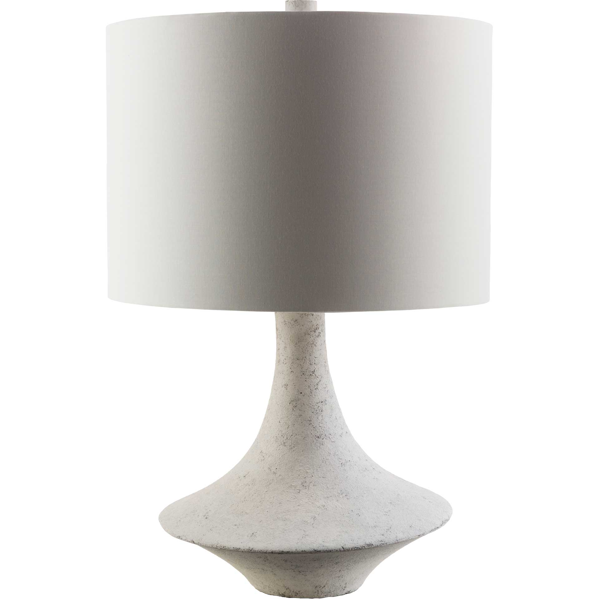 Brennan Table Lamp White