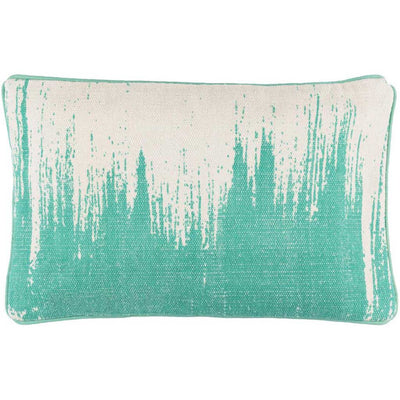 Bristle Teal/Light Gray Pillow
