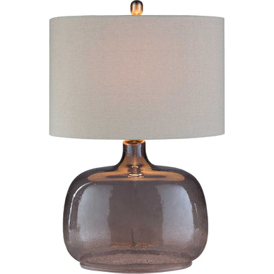 Bria Table Lamp Ivory/Taupe/Light Gray