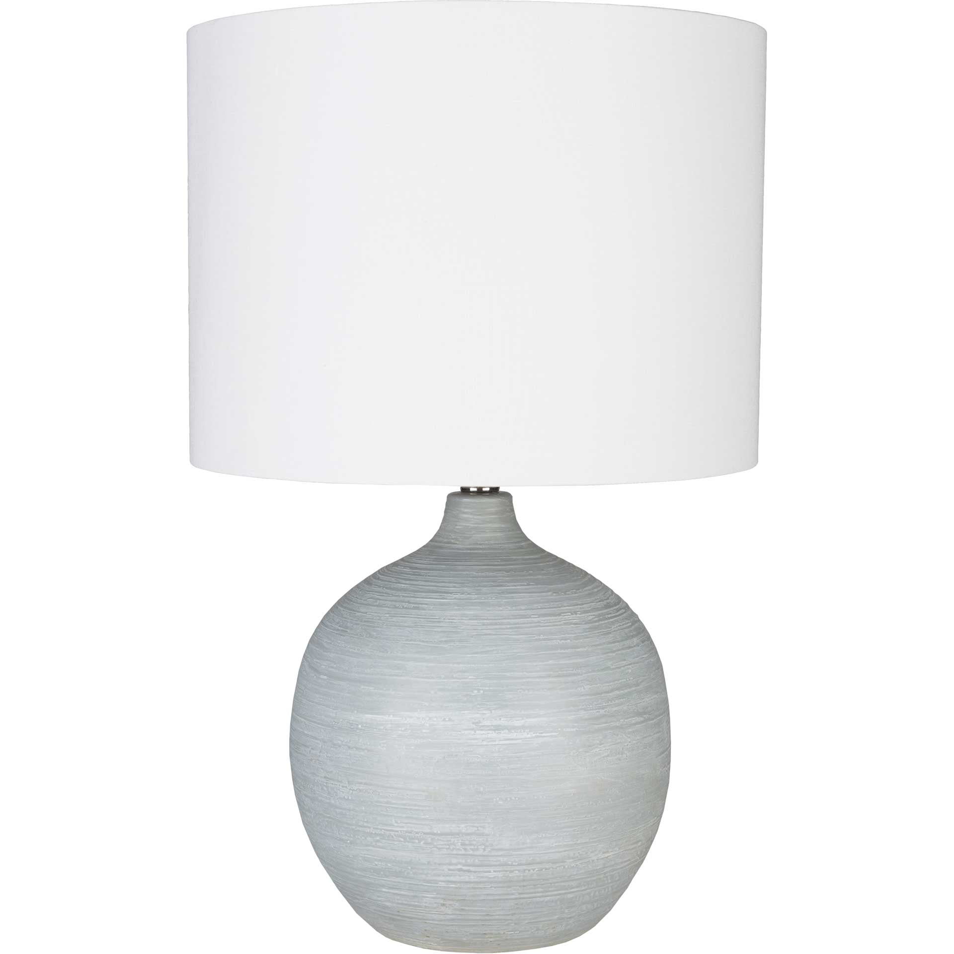 Bruno Table Lamp Light Gray/White/Gray