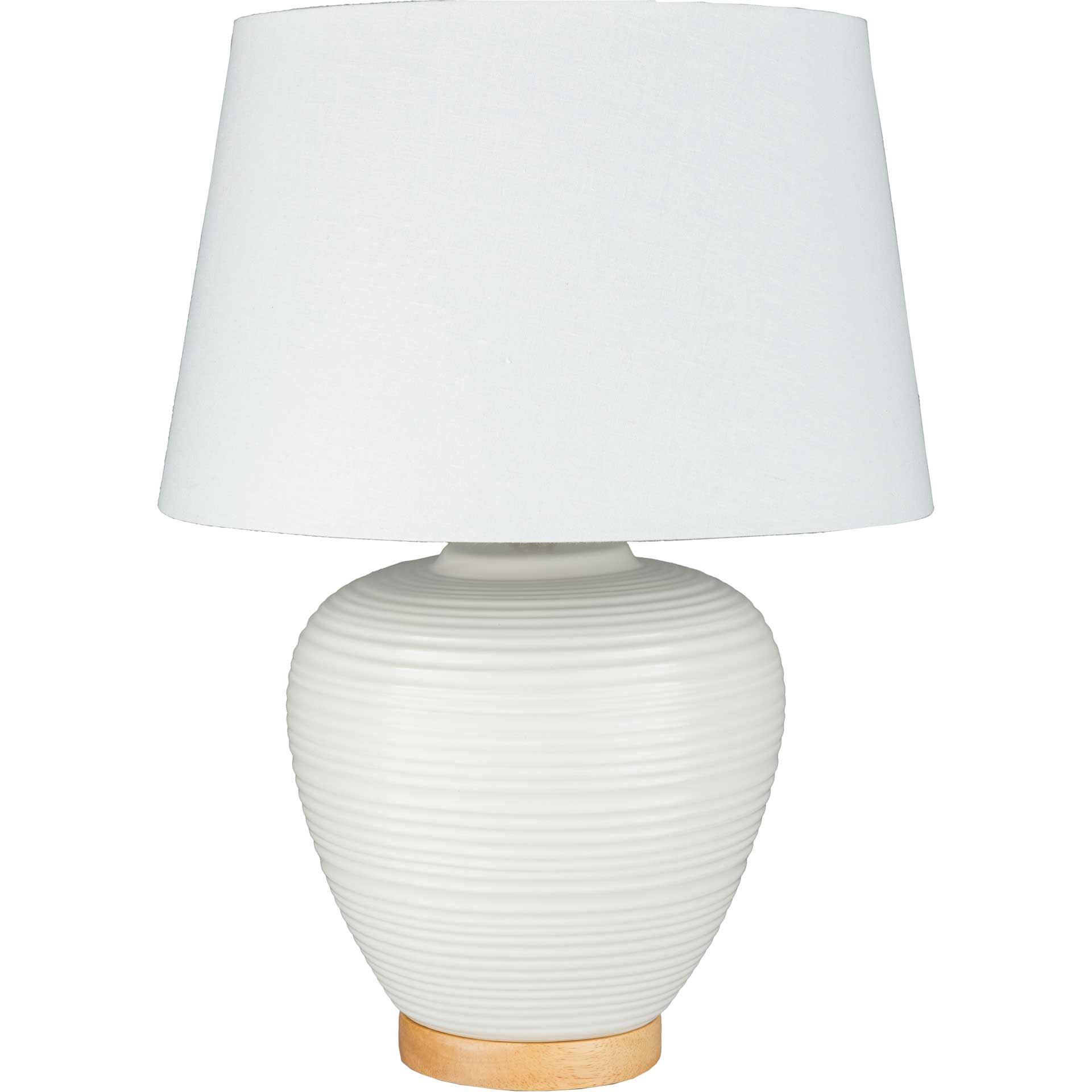 Blake Table Lamp White