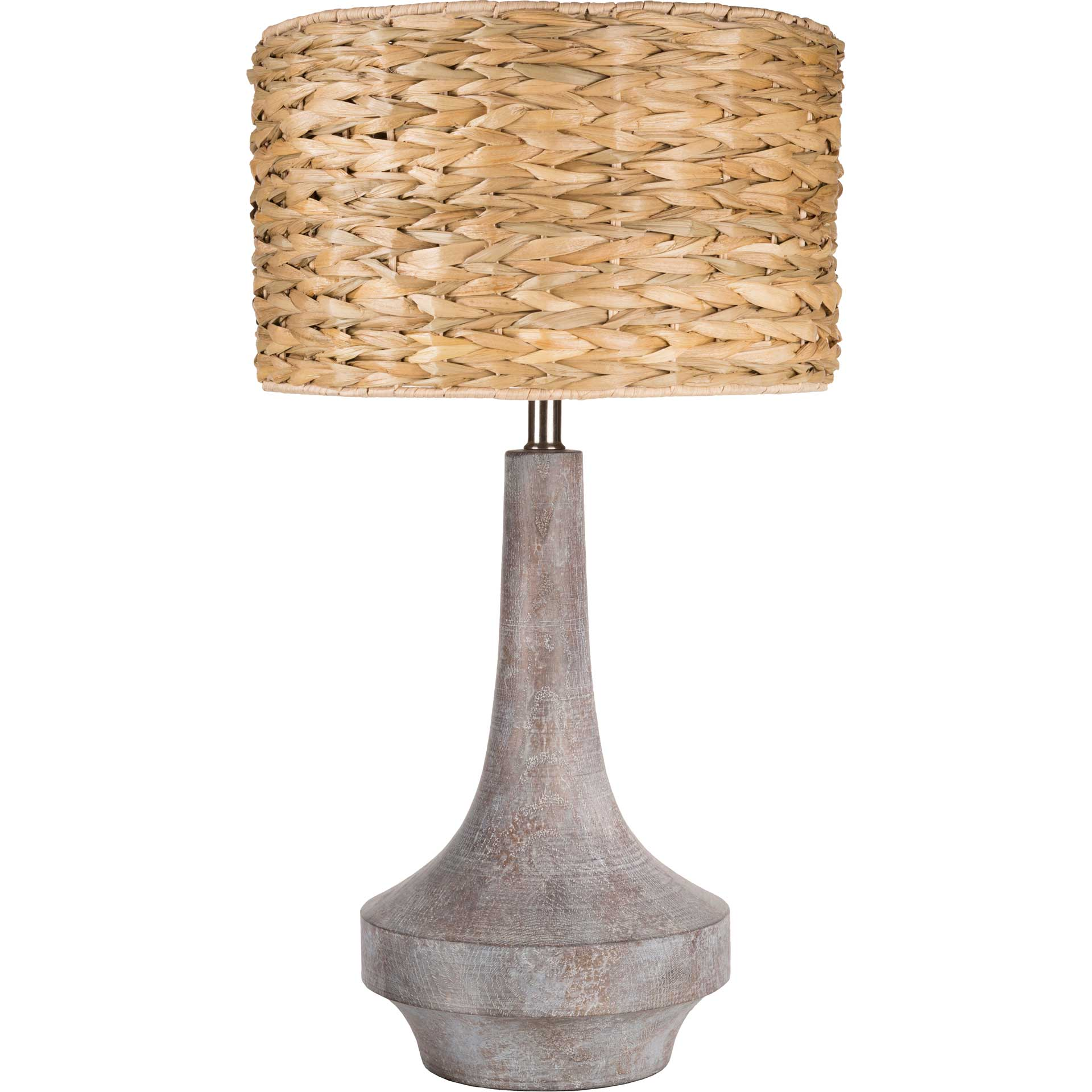 Callum Table Lamp Camel/Slate Gray/Natural