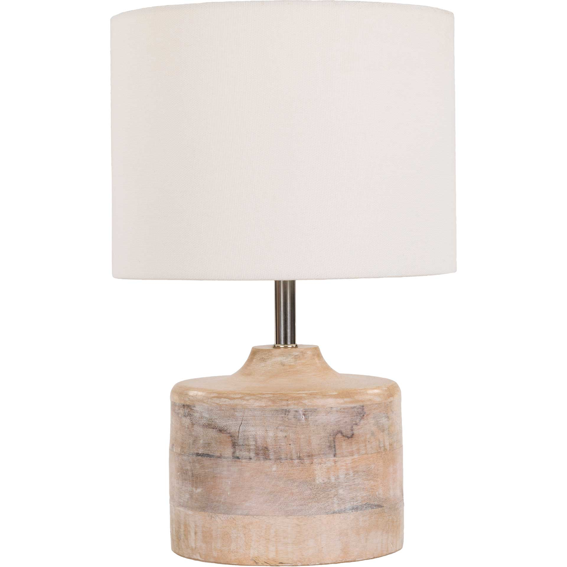 Cohen Table Lamp White/Natural