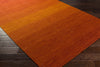 Chaz Tangerine/Burnt Orange Area Rug