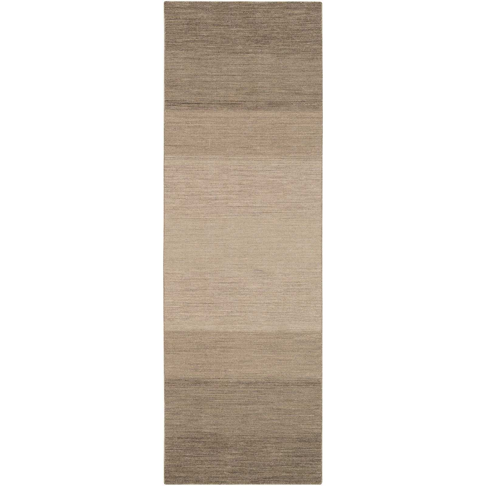 Chaz Light Gray/Olive Runner Rug