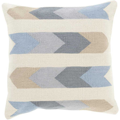 Taste of Tribal Beige/Charcoal Pillow
