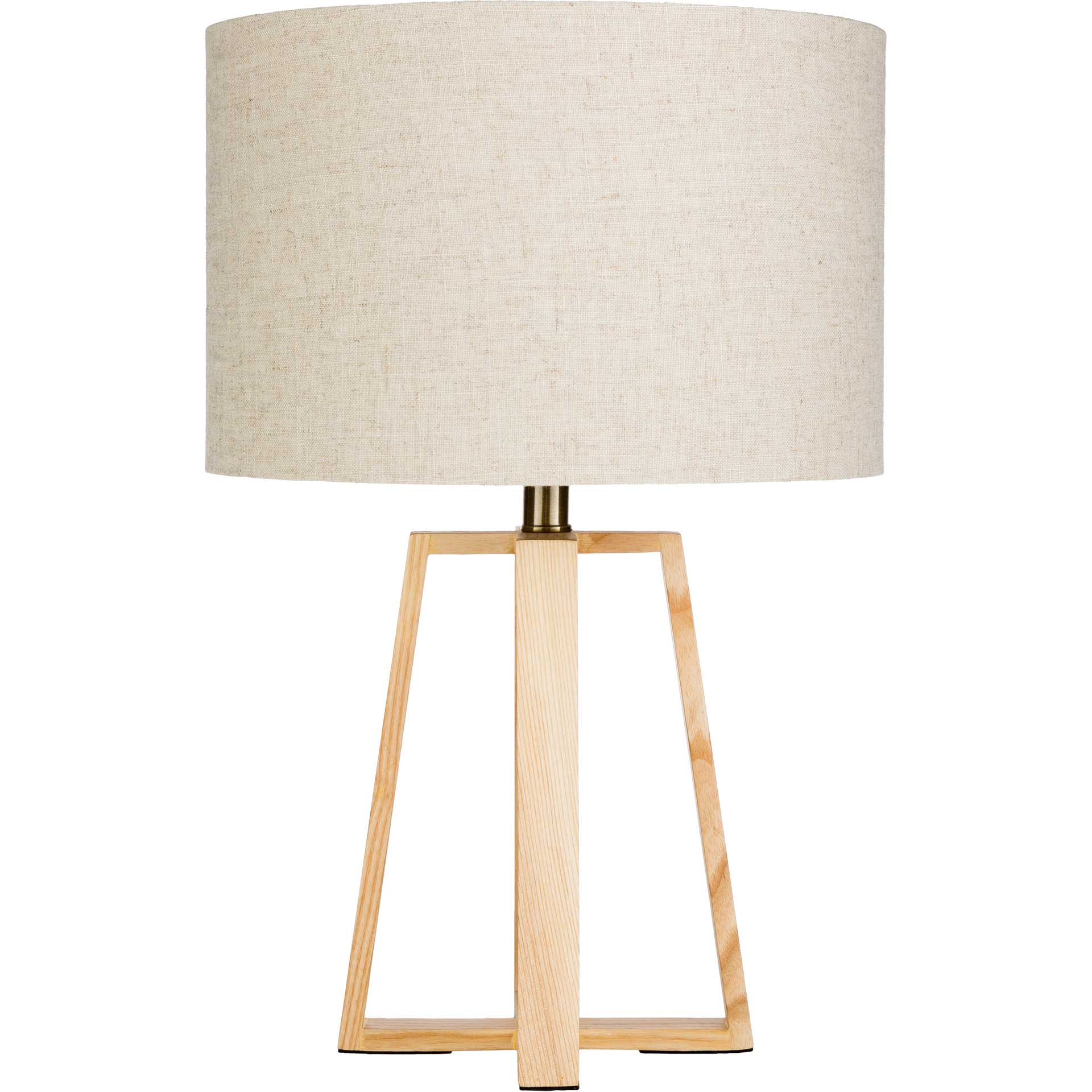 Cairo Table Lamp Ivory/Natural/Gray