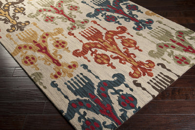 Centennial Navy/Burnt Orange/Dark Red Area Rug