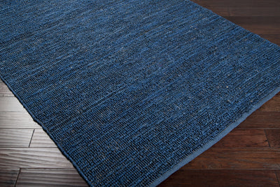 Continental Navy Area Rug
