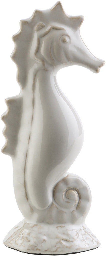 Clearwater Ceramic Sea Horse Ivory