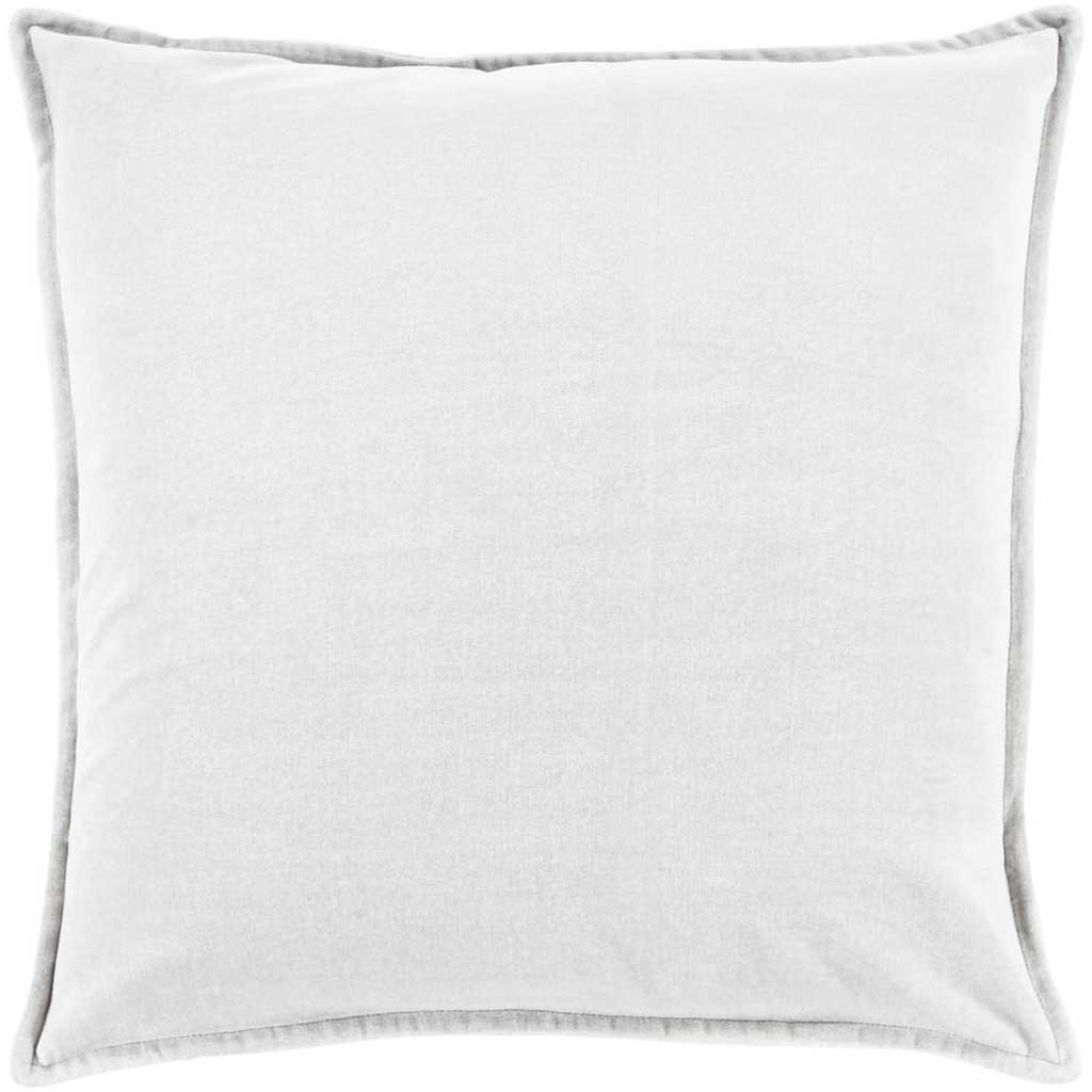 Ava Grace Light Gray Pillow