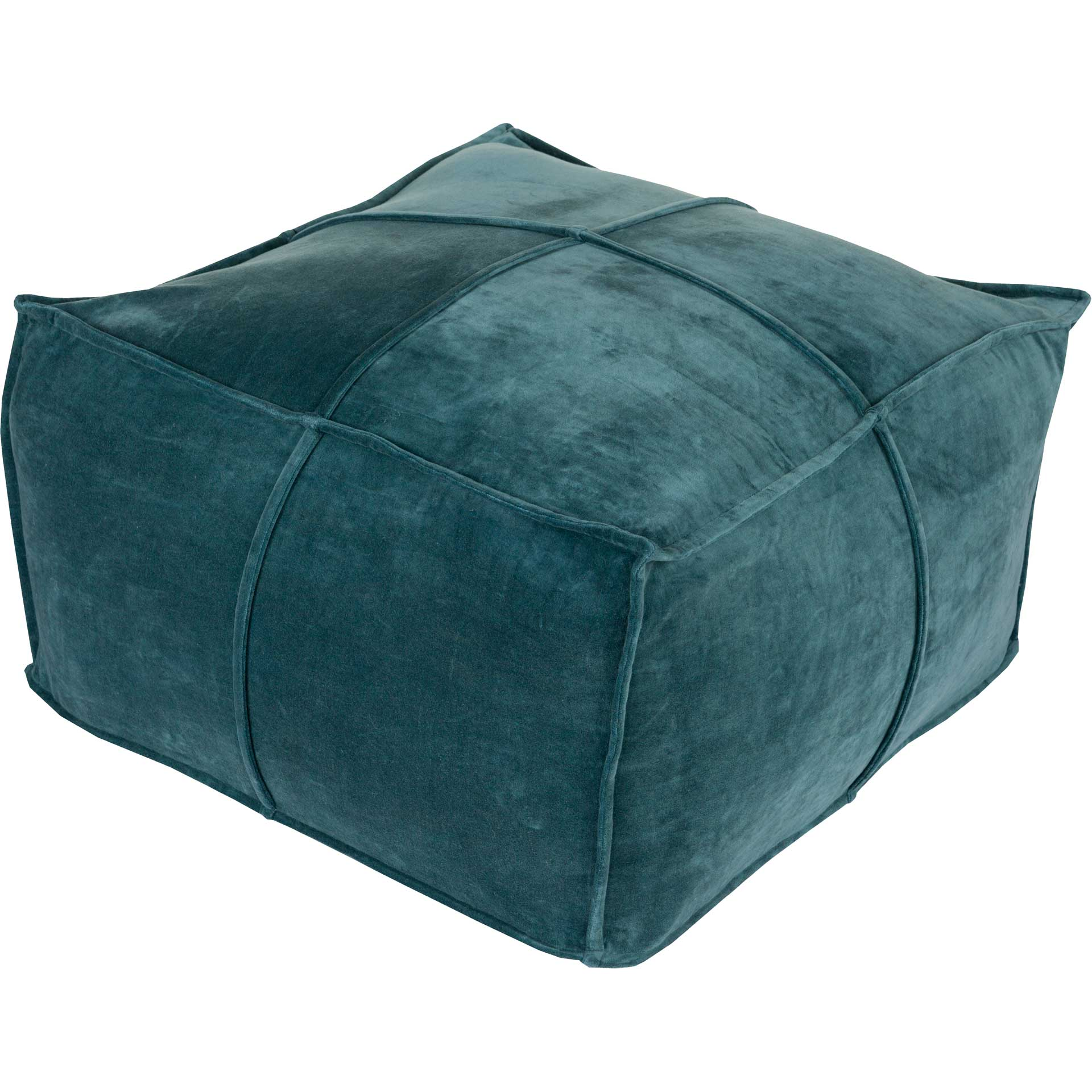 Conner Pouf Teal
