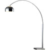 Parsons Arc Floor Lamp Chrome