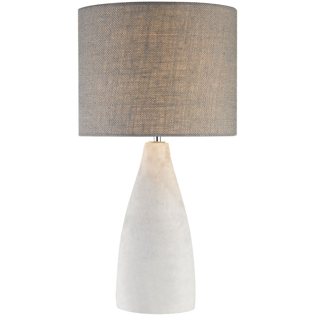 Rockport Table Lamp Polished Concrete Tall