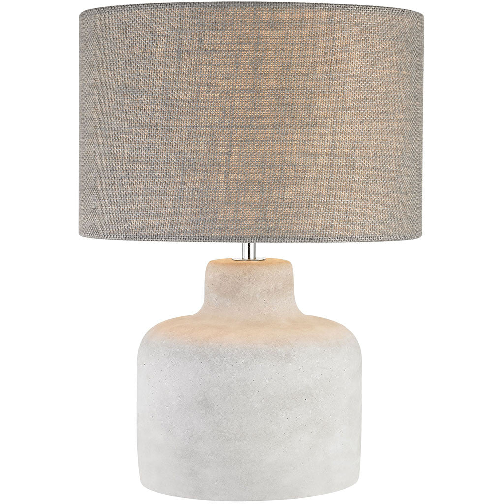 Rockport Table Lamp Polished Concrete Broad