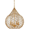 Thornton Pendant Gold Leaf