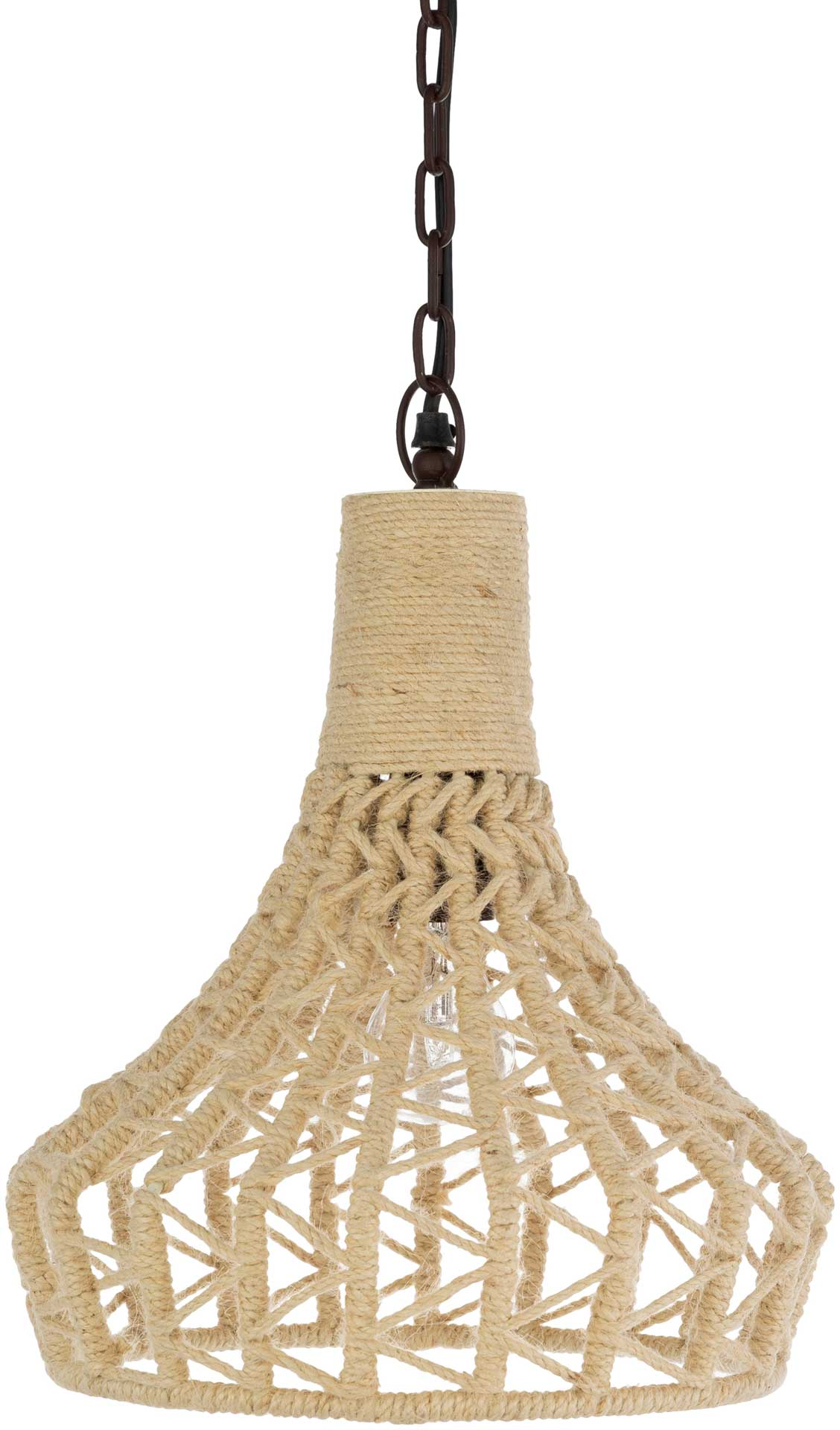 Delilah Ceiling Lamp Black/Natural
