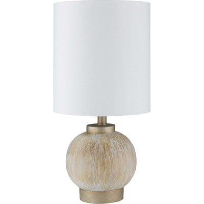 Denver Table Lamp Ivory/White/Tan