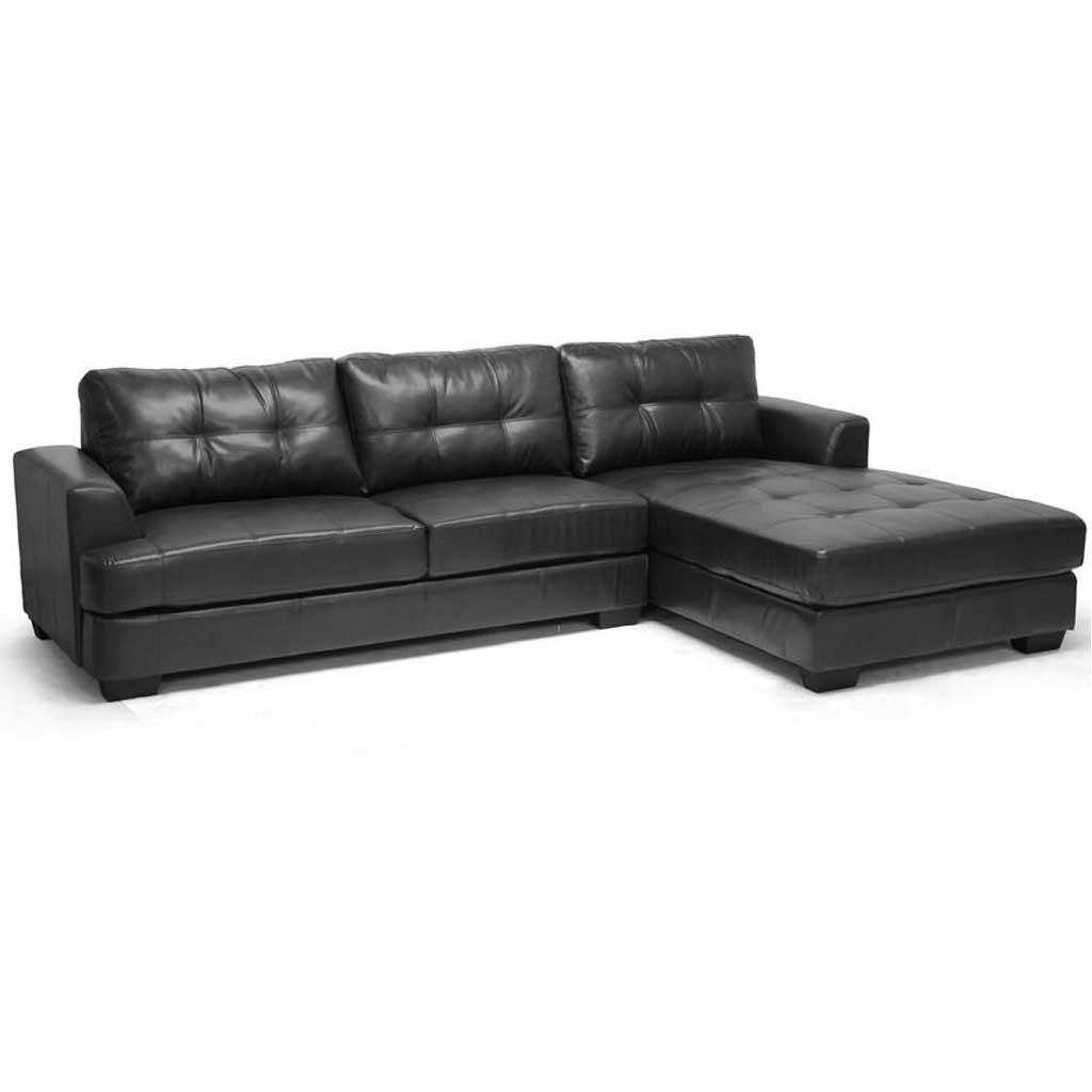 Stupendous Genoa Sectional Sofa Black Gmtry Best Dining Table And Chair Ideas Images Gmtryco