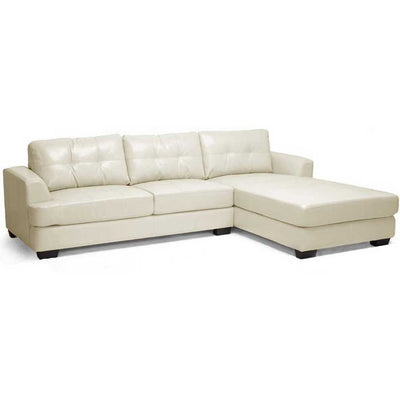 Genoa Sectional Sofa Cream