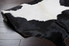 Duke Ivory/Black Cowhide Rug