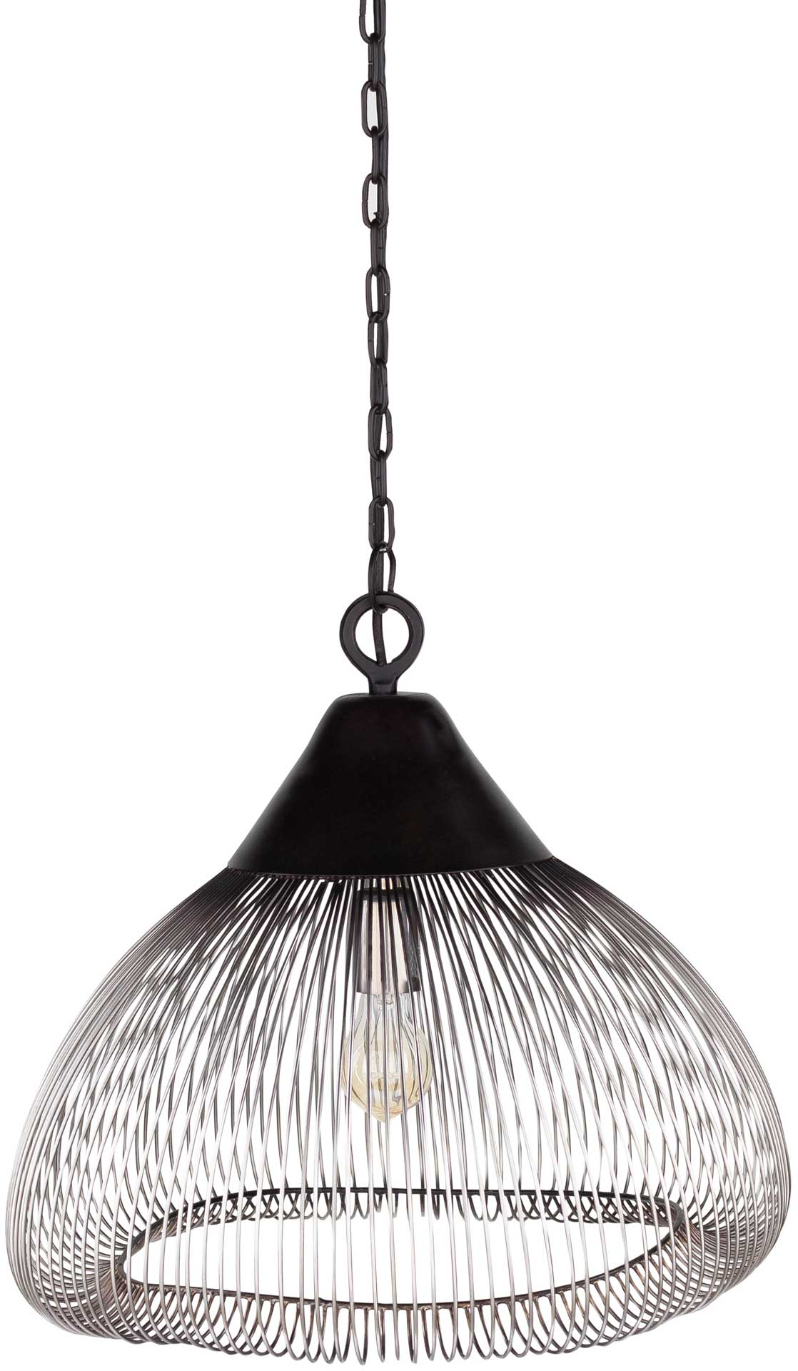 Ema Ceiling Lamp Black/Silver